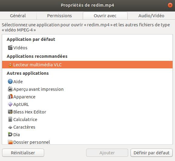 Comment convertir un fichier en mp4