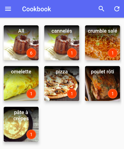 cookbook android